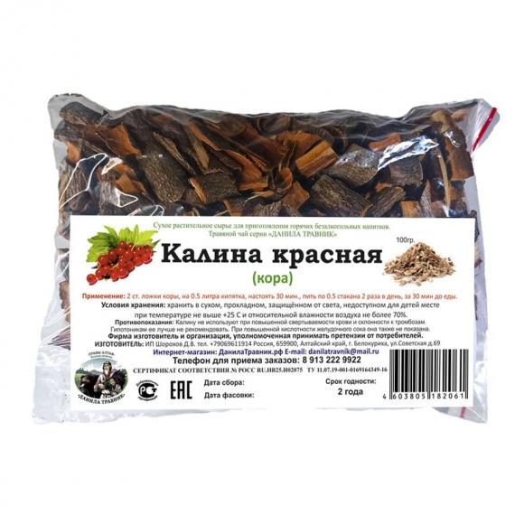 Купить Калина красная (кора) (100гр.)