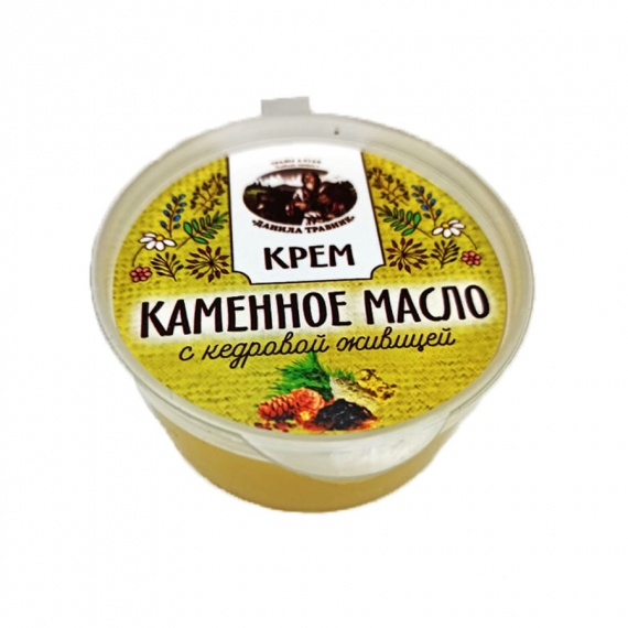 Купить Крем каменное масло с кедровой живицей (50мл.)