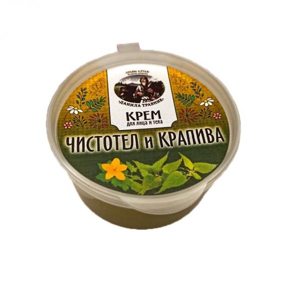 Купить Крем - чистотел и крапива (50мл.)