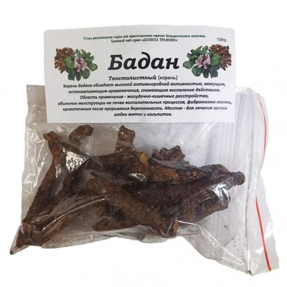 Купить Бадан корень (100гр.)