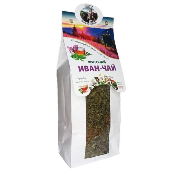 """Купить Фиточай """"Иван-чай"""" (Кипрей)  в бумажной упаковке (100 гр.)"""