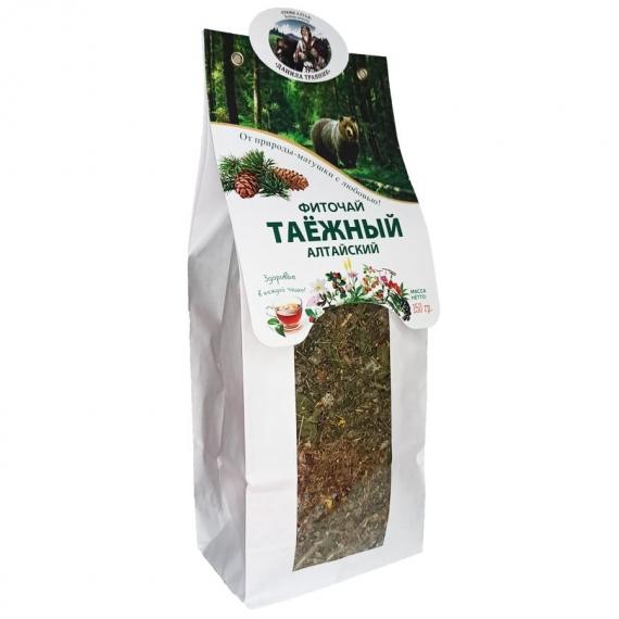 """Купить Фиточай """"Таёжный"""" Алтайский в бумажной упаковке 150 гр."""