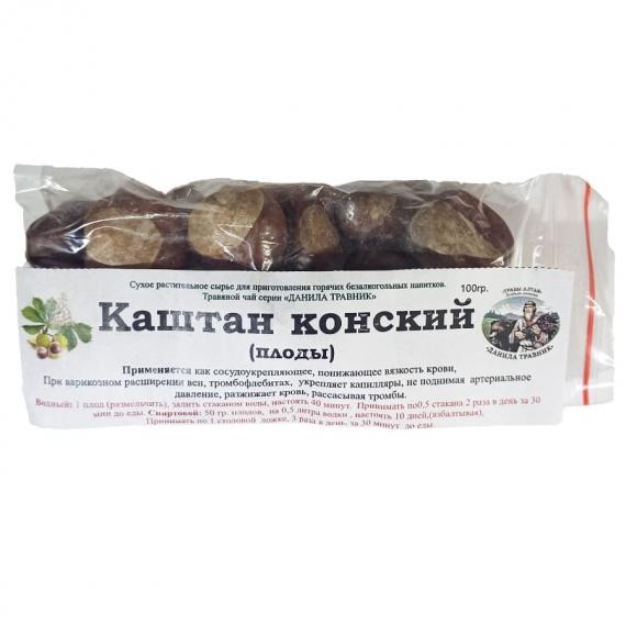 Купить Каштан конский плоды (100 гр.)