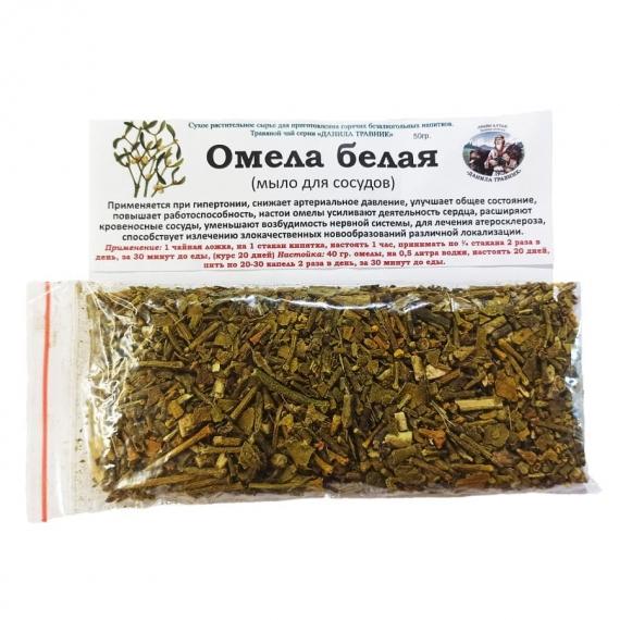 Купить Омела белая (мыло для сосудов) (50 гр.)